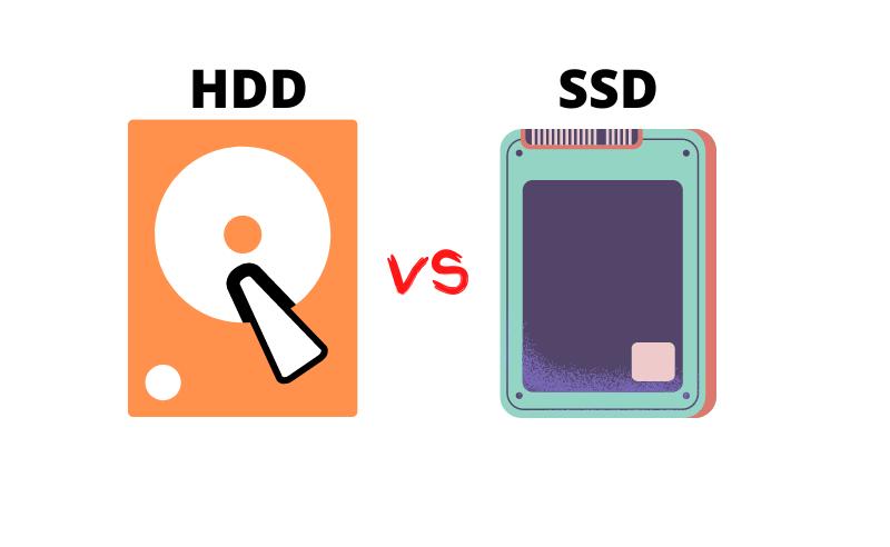 Compare HDD vs SSD